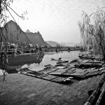 Peaceful on the Li River-(China)